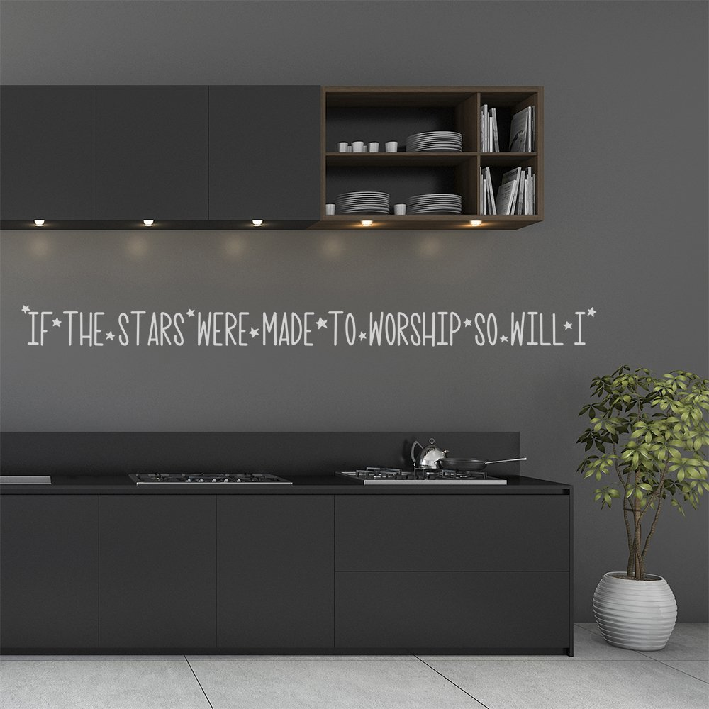 So Will I- kitchen-vinyl-decal